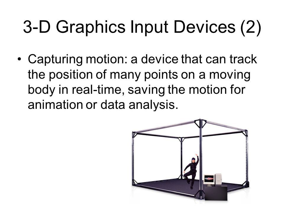 3-D Graphics Input Devices (2)