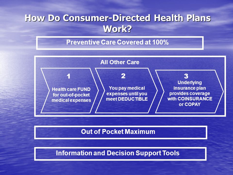 How Do Consumer-Directed Health Plans Work