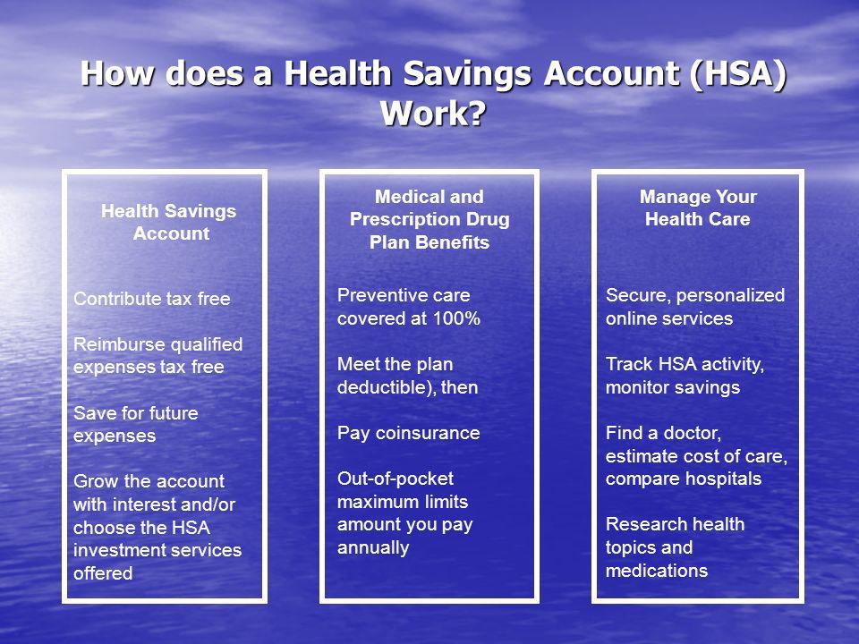 How does a Health Savings Account (HSA) Work