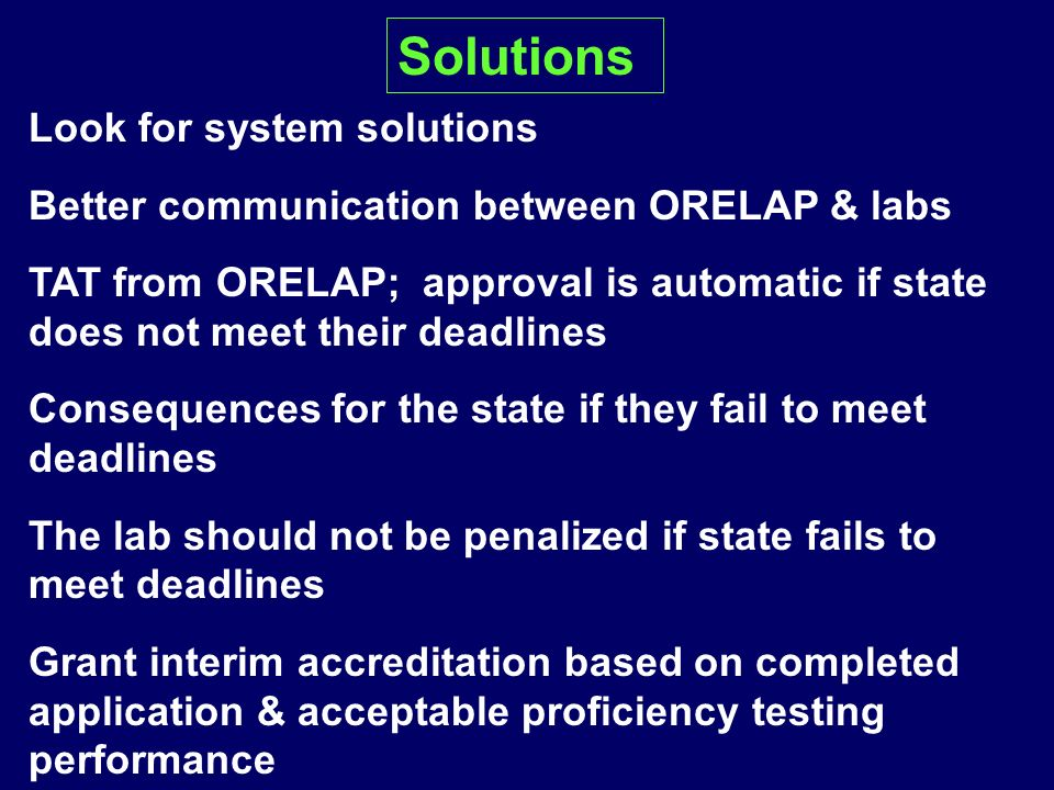 Solutions Look for system solutions