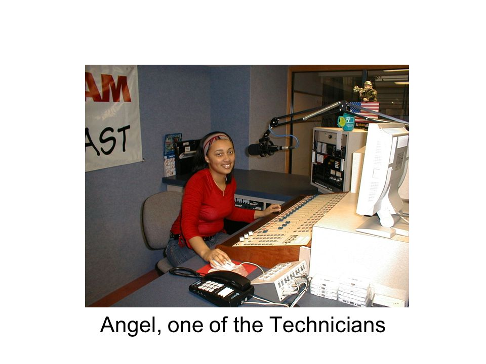 Angel, one of the Technicians