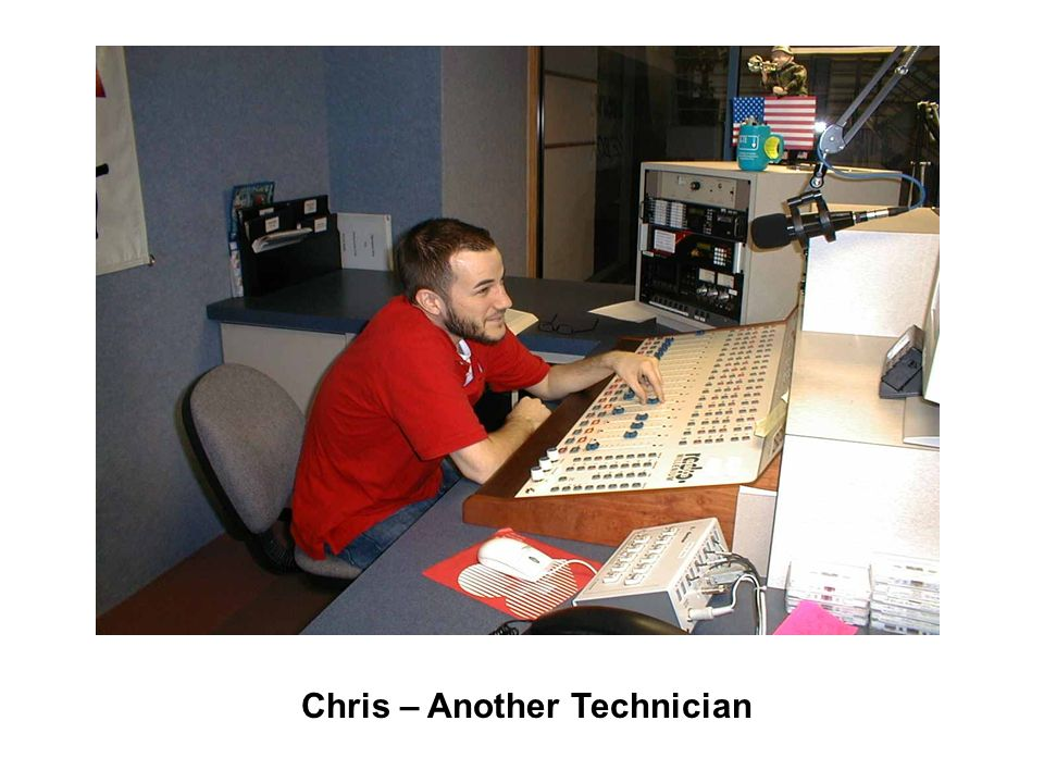 Chris – Another Technician