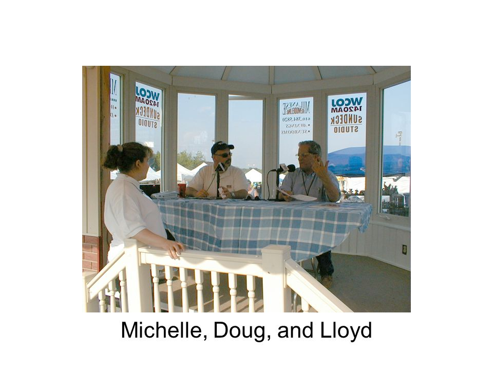 Michelle, Doug, and Lloyd
