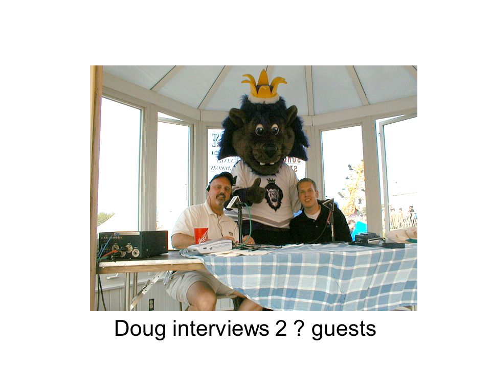 Doug interviews 2 guests