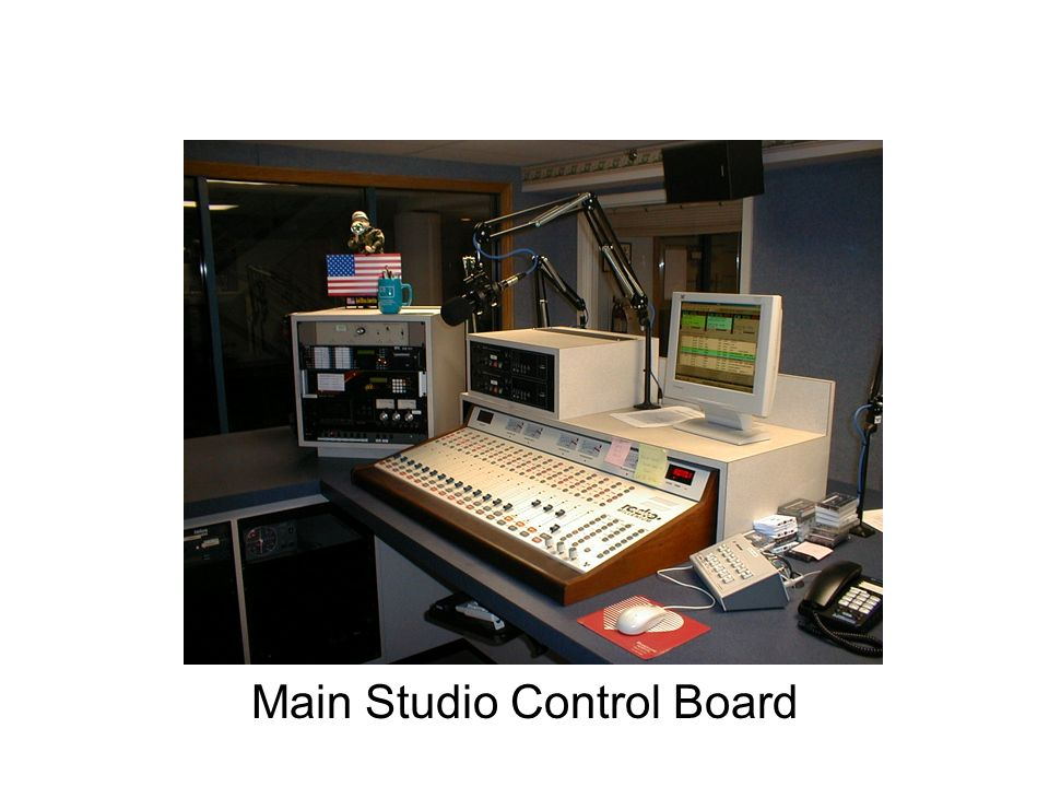 Main Studio Control Board