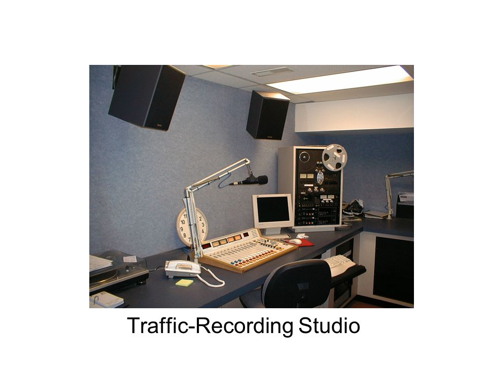 Traffic-Recording Studio