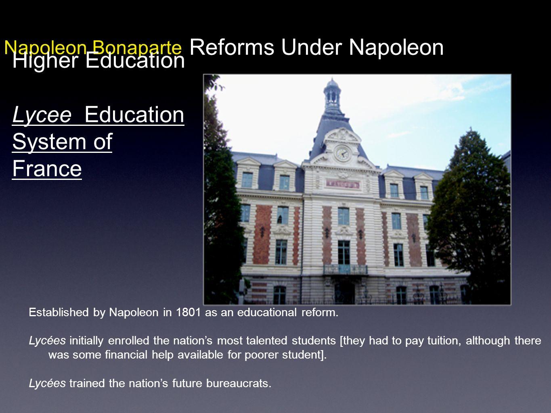 Reforms Under Napoleon