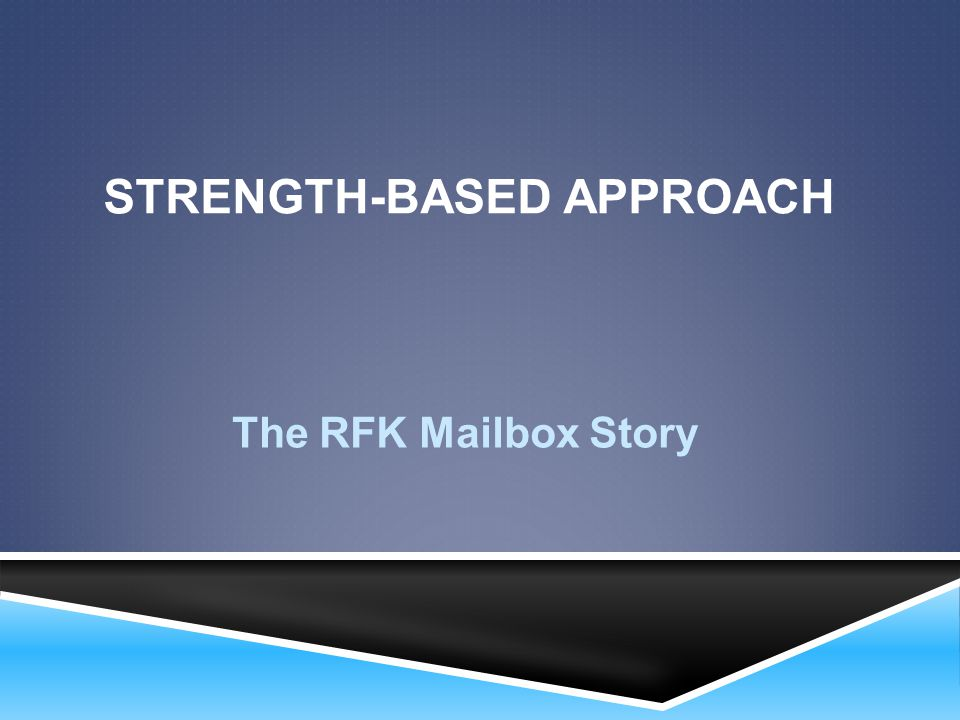 Strength-Based Approach