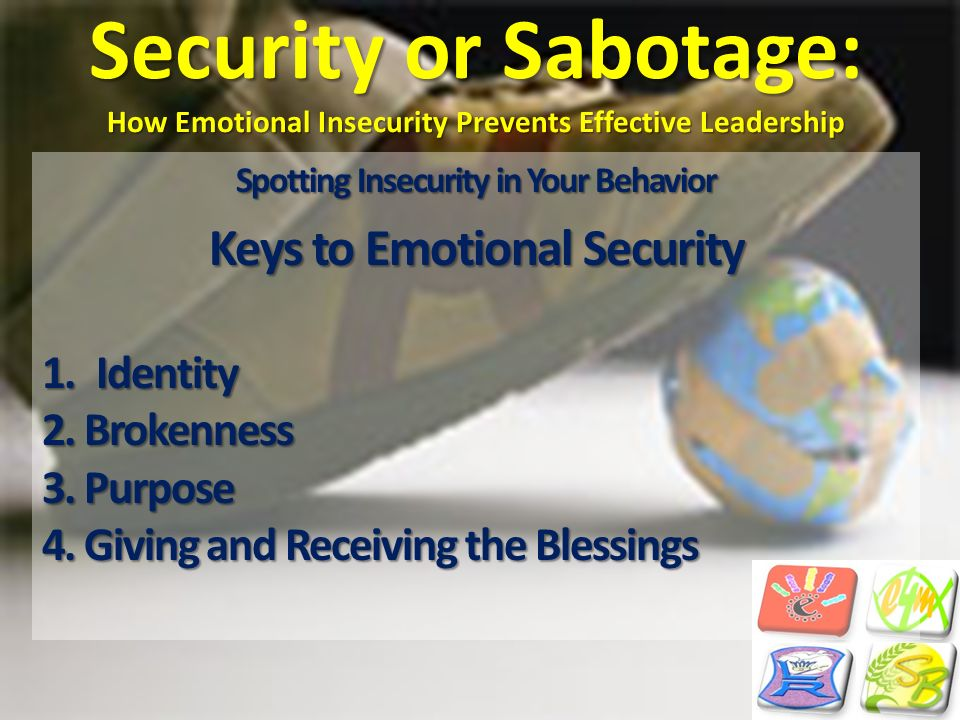 Spotting Insecurity in Your Behavior Keys to Emotional Security
