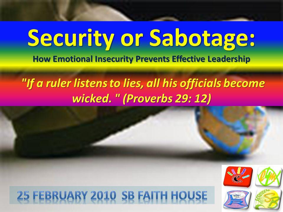 25 February 2010 SB faith House
