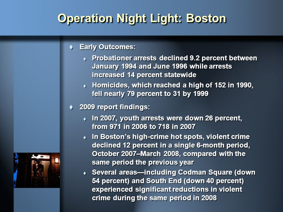 Operation Night Light: Boston