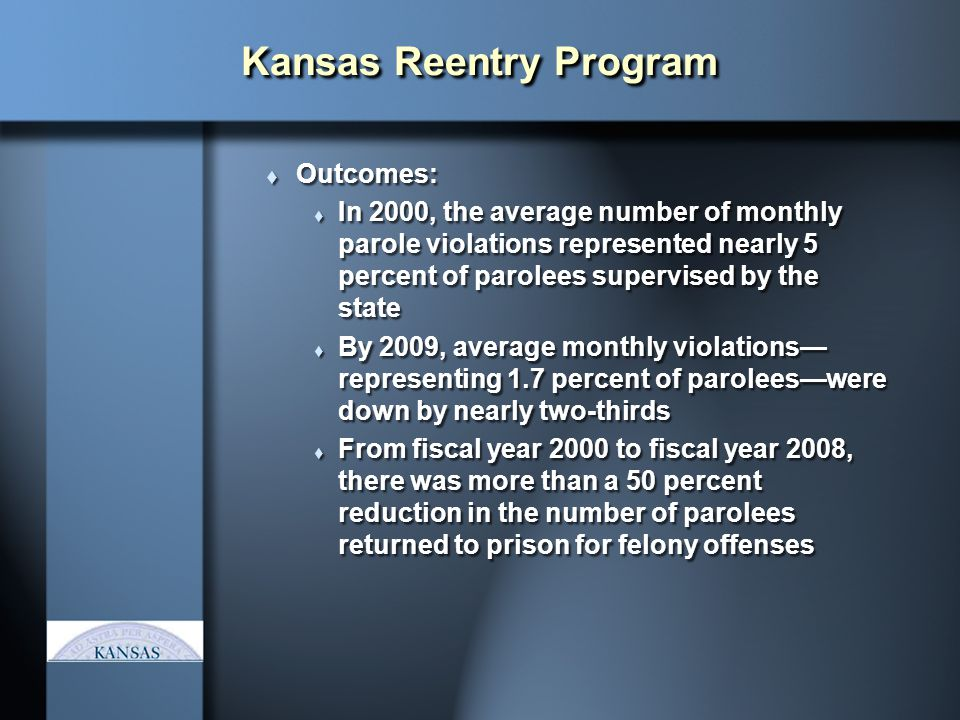 Kansas Reentry Program