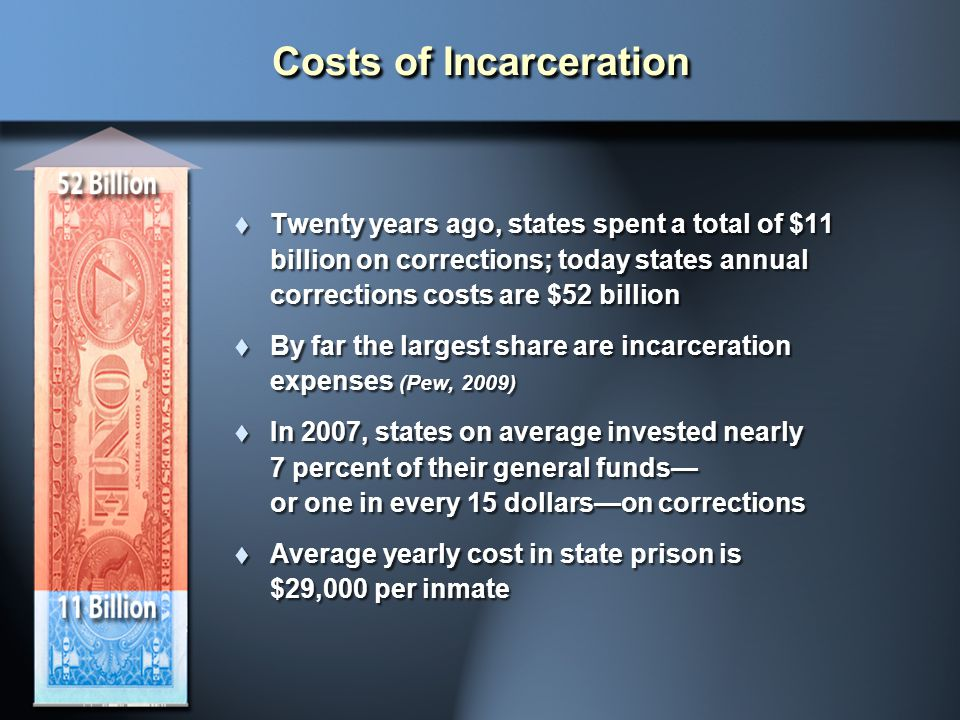 Costs of Incarceration