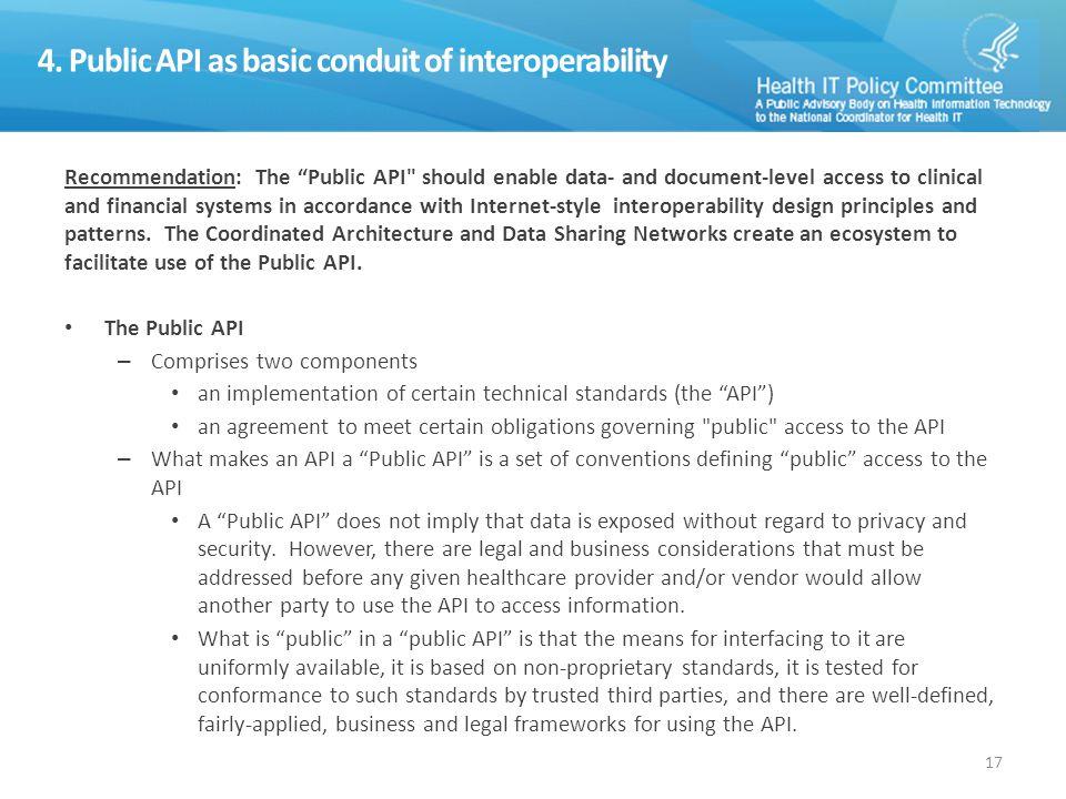 5. Priority API Services