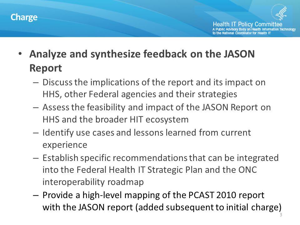JASON Task Force (JTF) Member Name Organization Role David McCallie