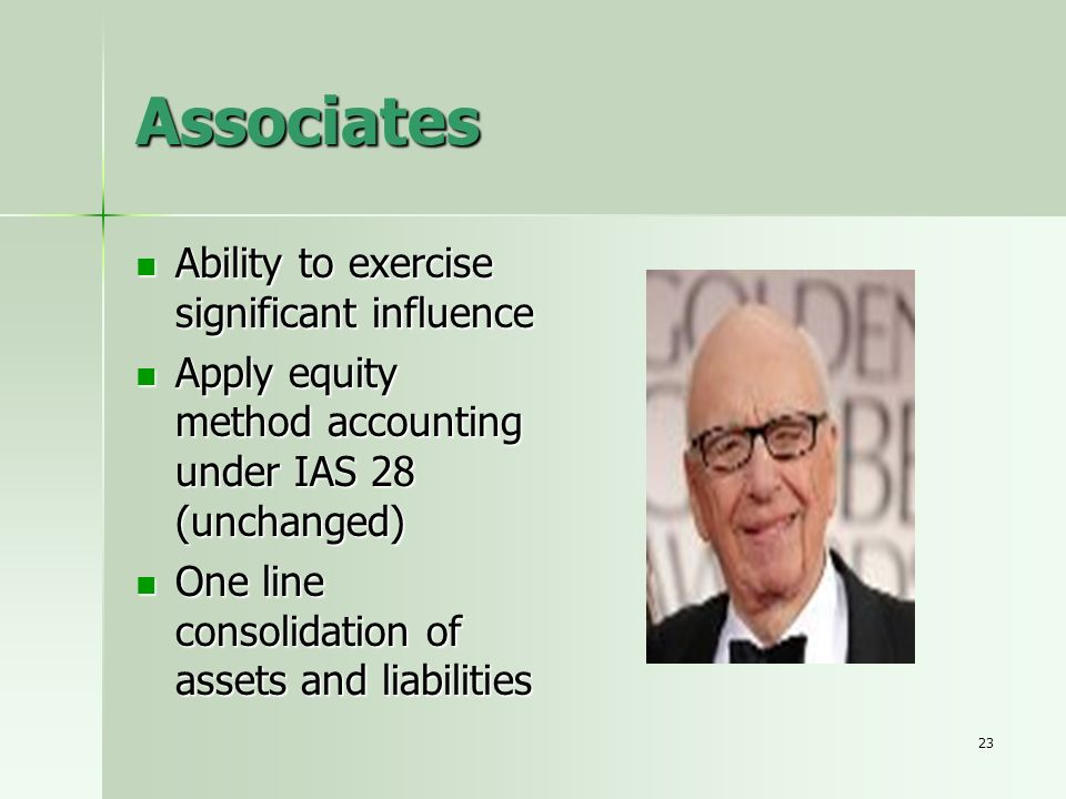 Associates Ability to exercise significant influence