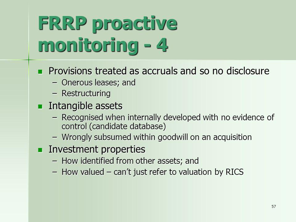 FRRP proactive monitoring - 4