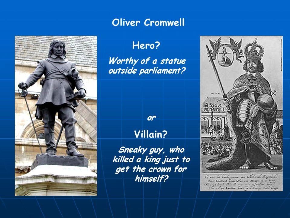 cromwell hero or villain