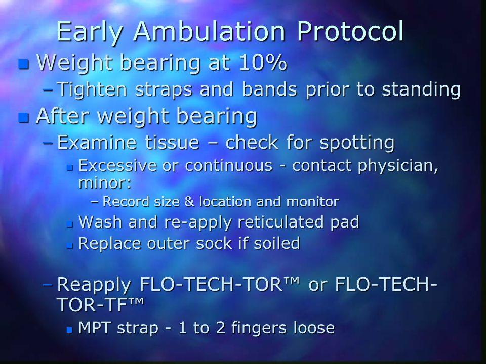 Early Ambulation Protocol