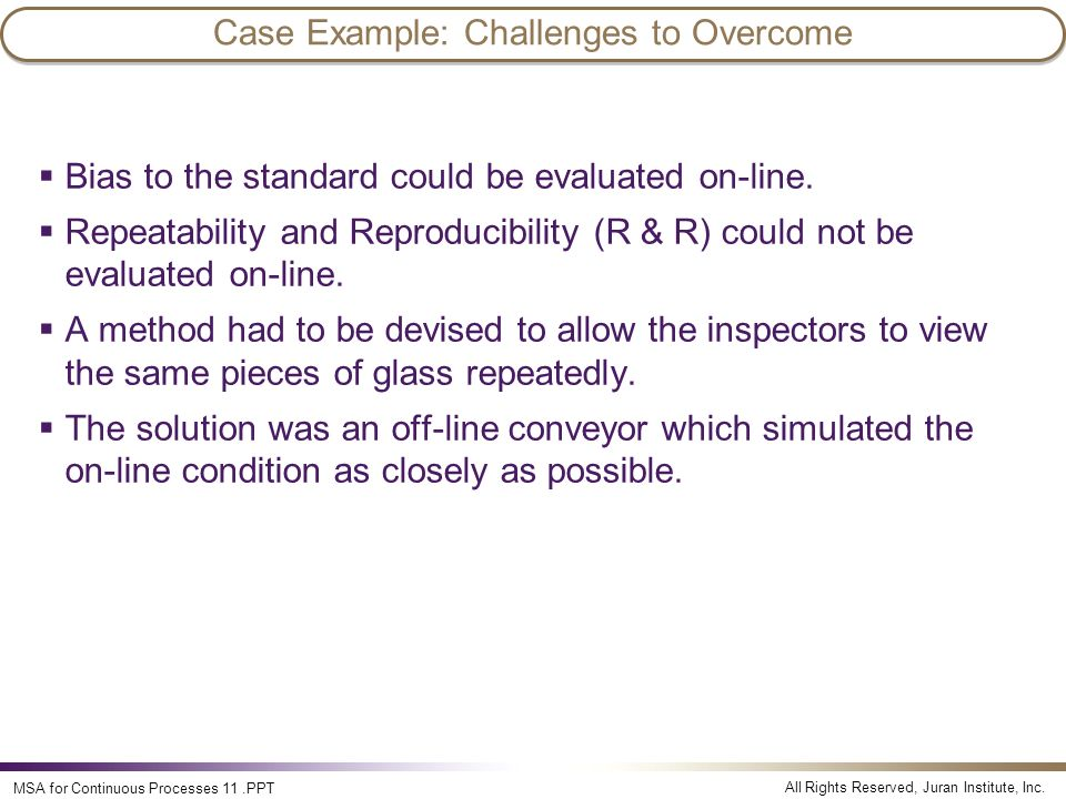 Case Example: Challenges to Overcome