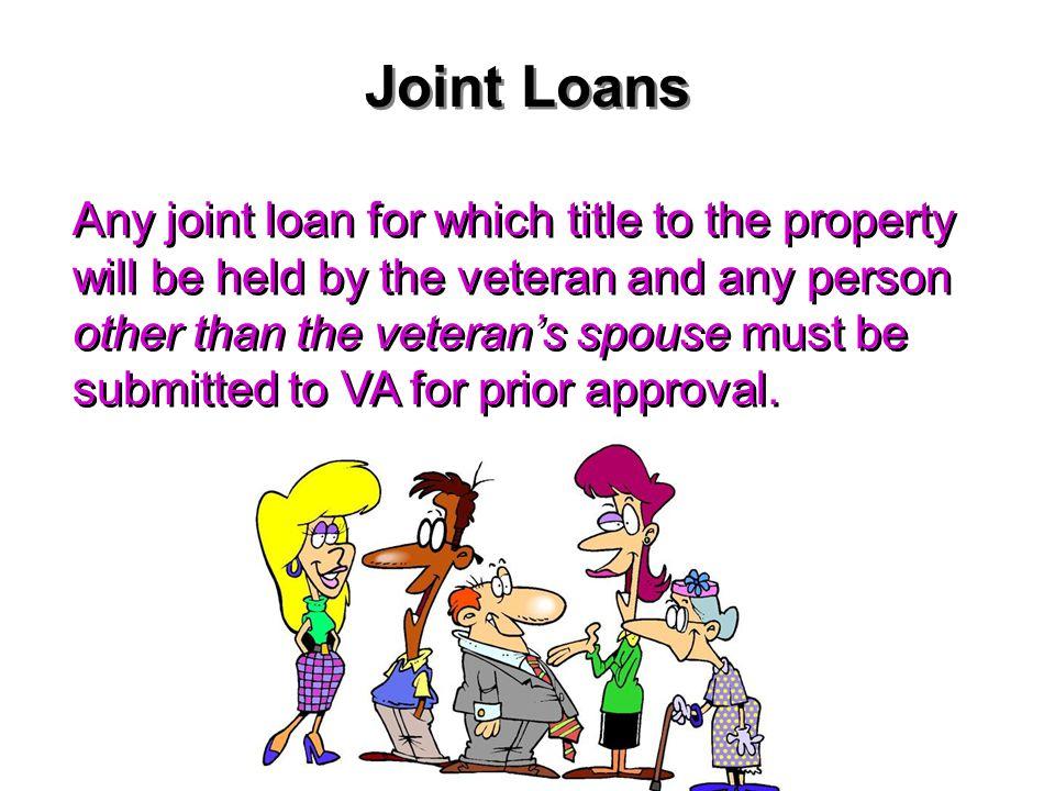 Joint Loans