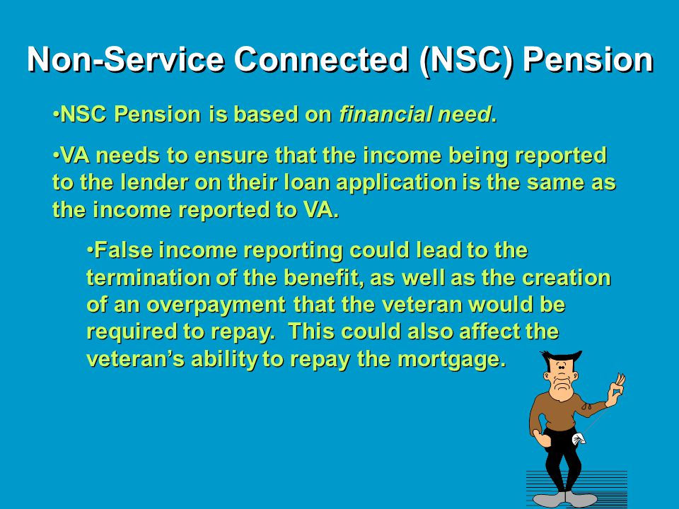 Non-Service Connected (NSC) Pension