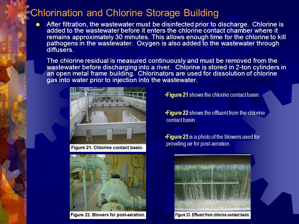 Chlorination and Chlorine Storage Building