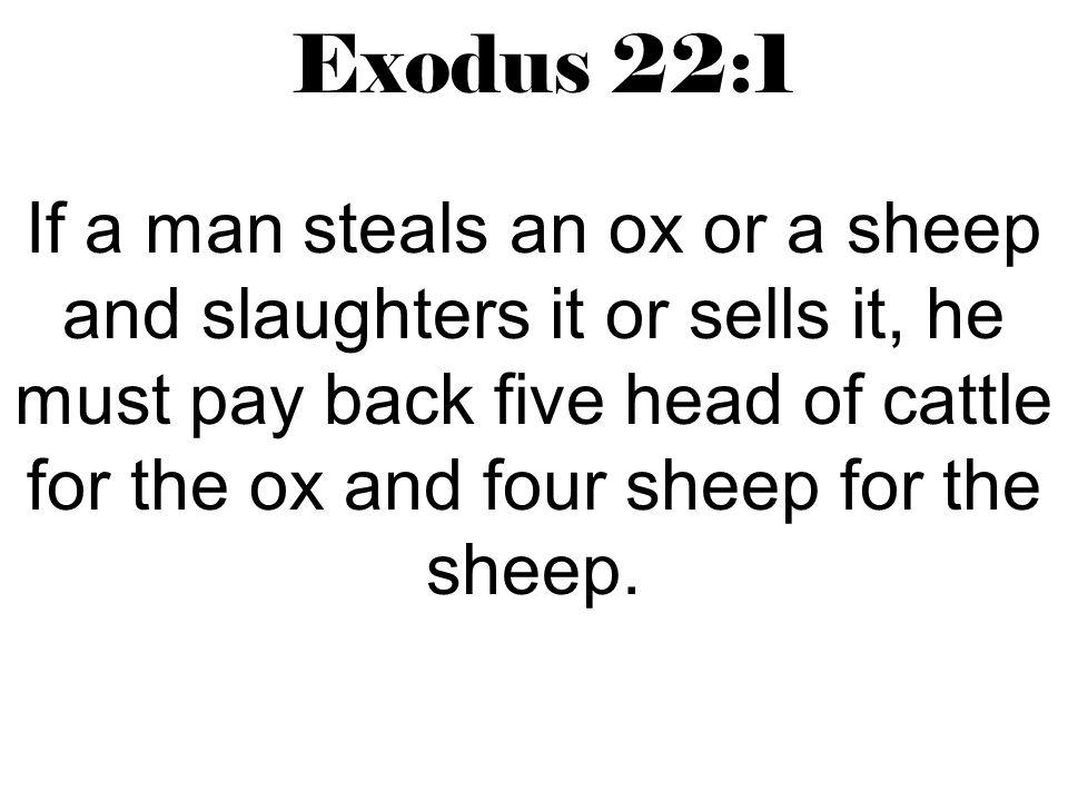 Exodus 22:1