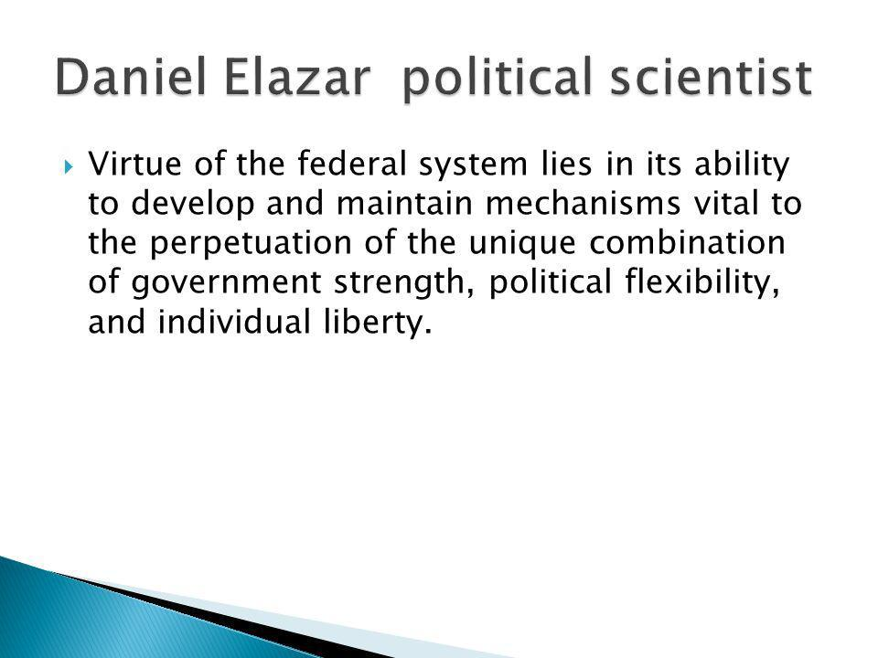 Daniel Elazar political scientist