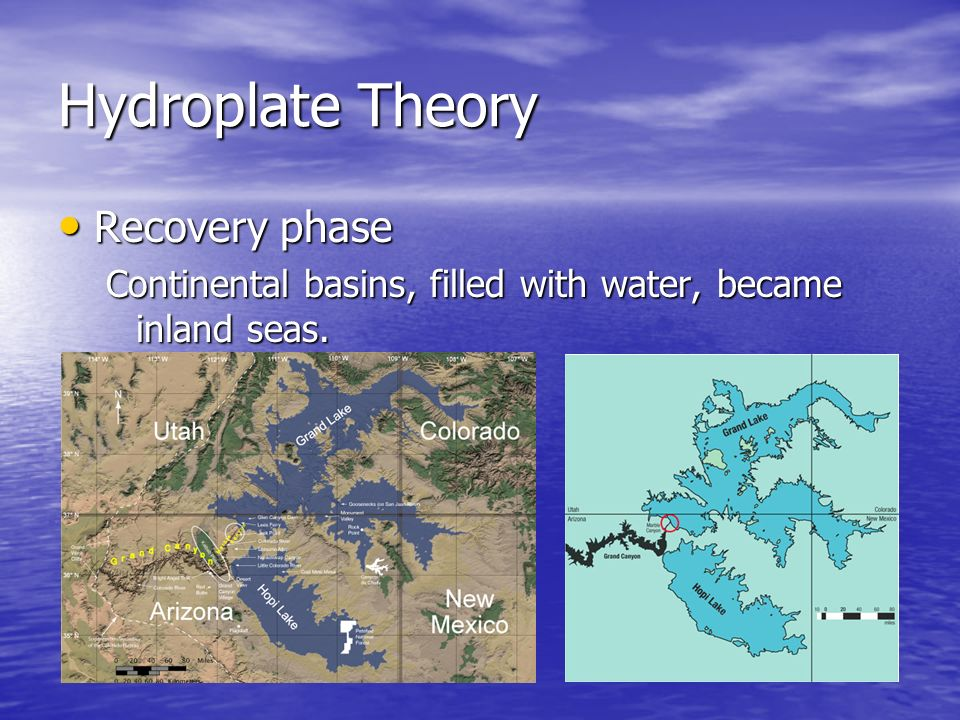 Hydroplate Theory Recovery phase