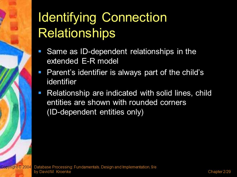 Identifying Connection Relationships