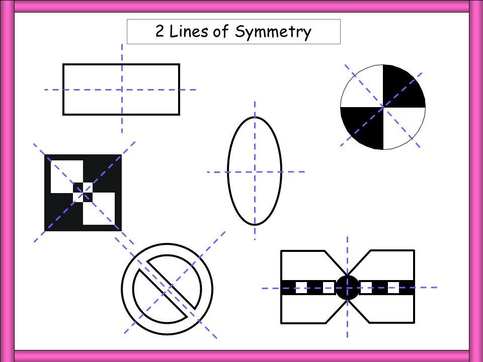 2 Lines of Symmetry 2 LoS