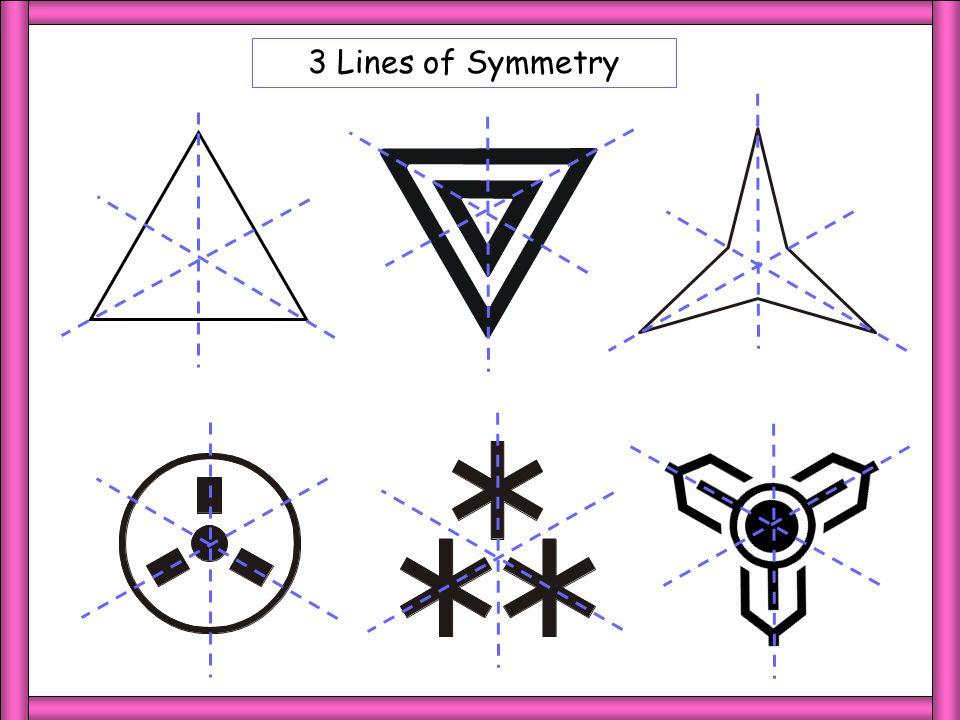 3 LoS 3 Lines of Symmetry