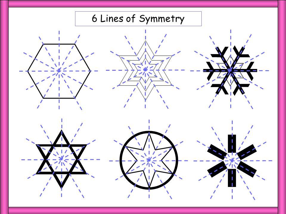 6 LoS 6 Lines of Symmetry