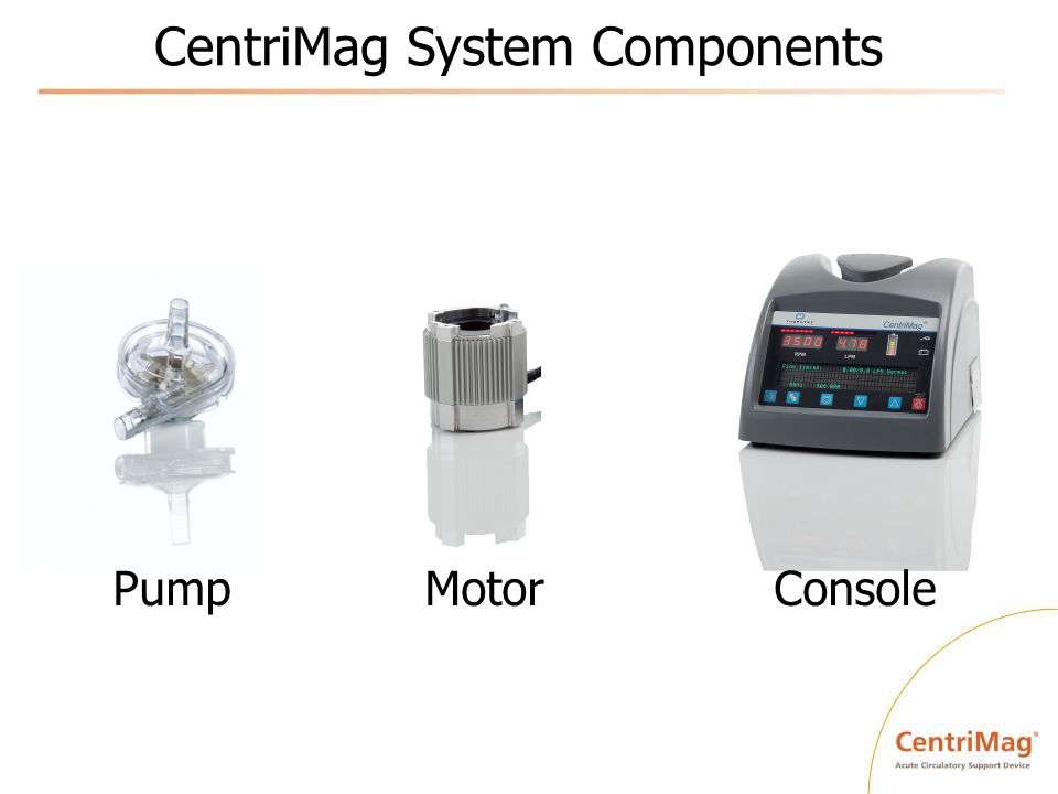 CentriMag System Components