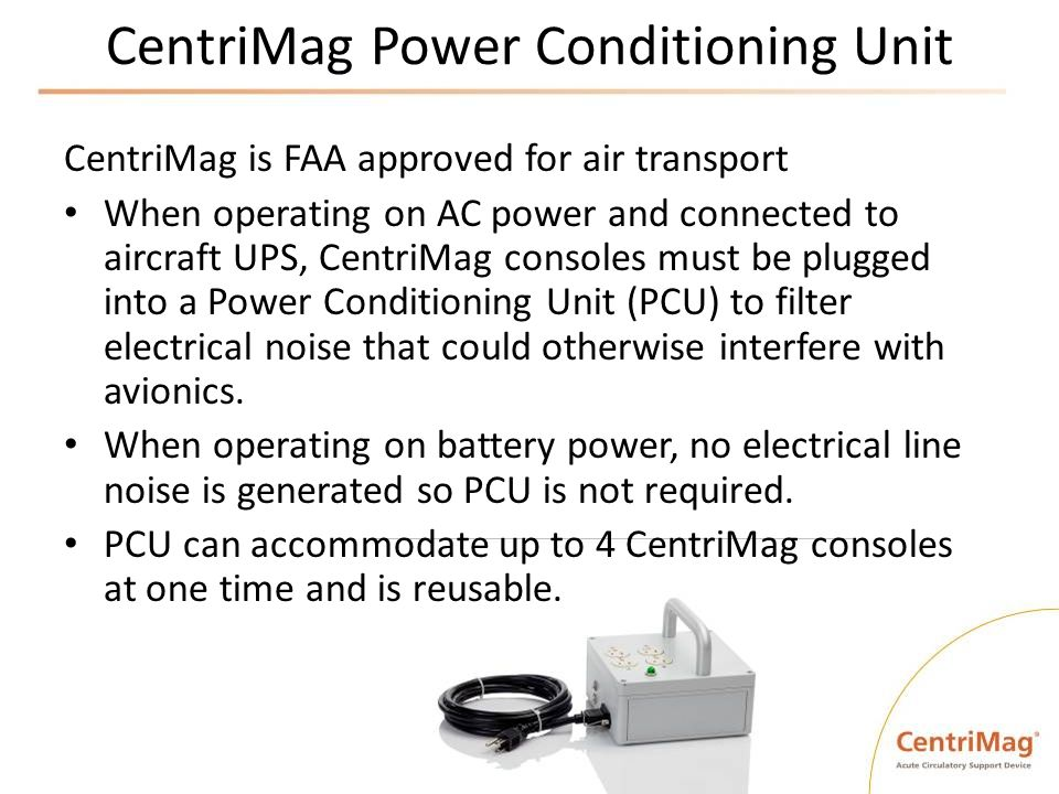 CentriMag Power Conditioning Unit