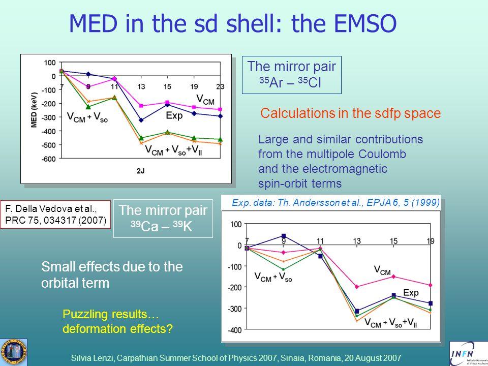 MED in the sd shell: the EMSO
