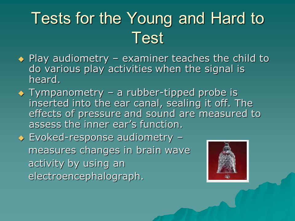 Tests for the Young and Hard to Test