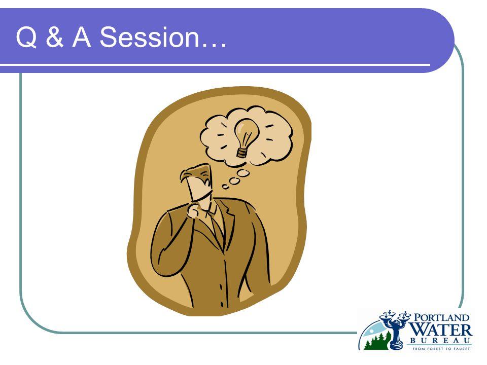 Q & A Session…