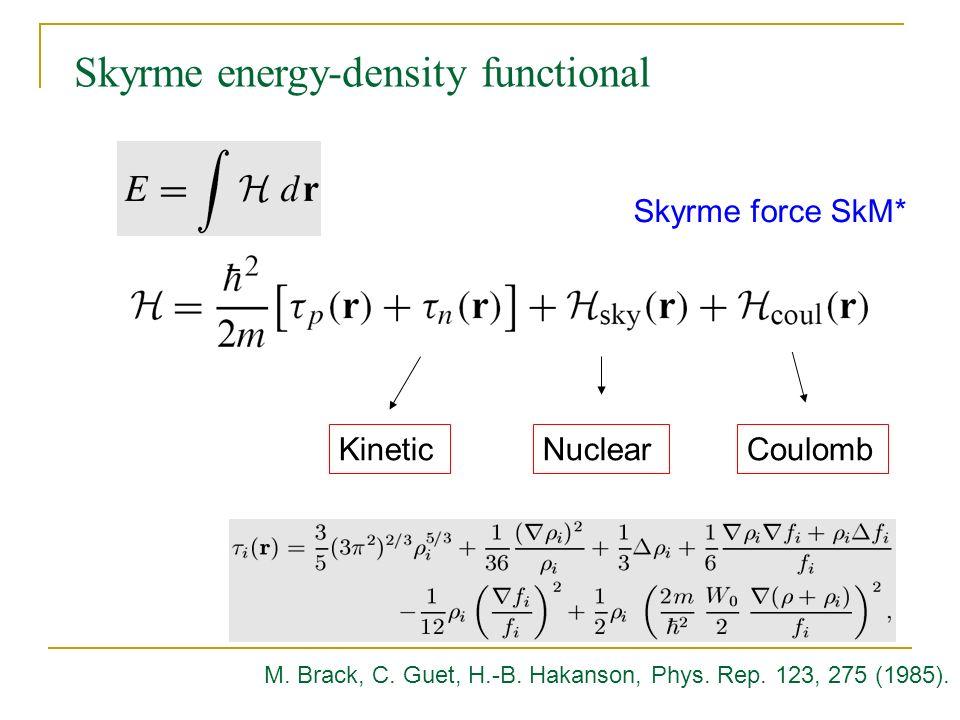 Skyrme energy-density functional
