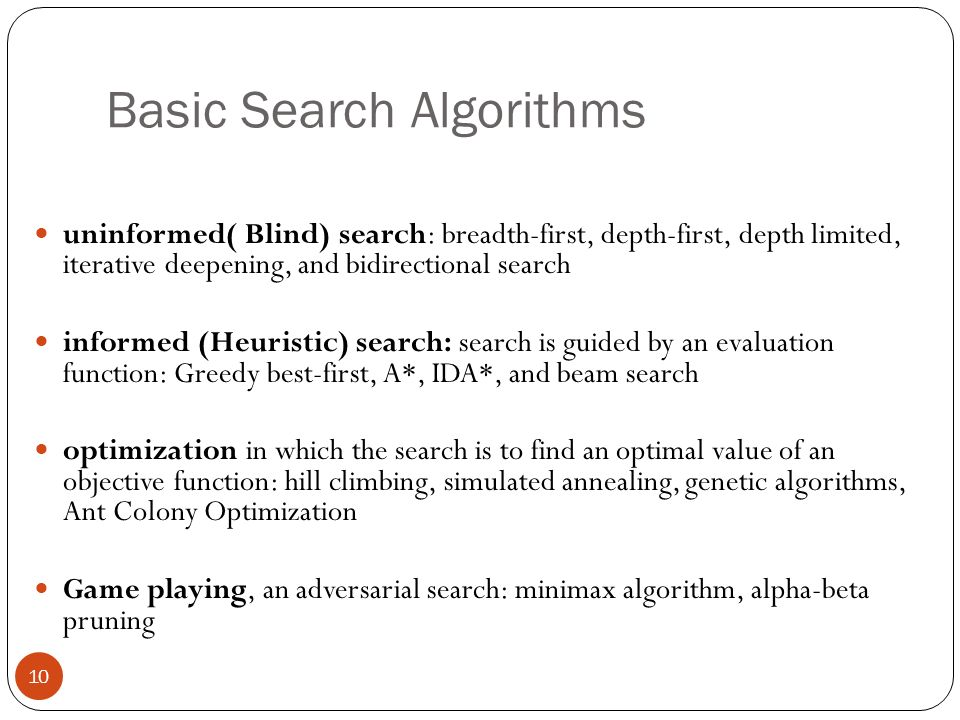 Basic Search Algorithms