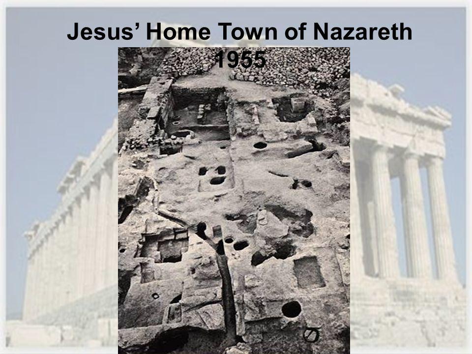 Jesus' Home Town of Nazareth 1955