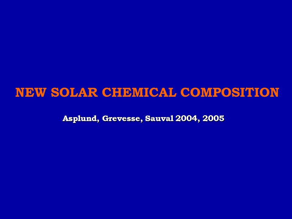 Asplund, Grevesse, Sauval 2004, 2005