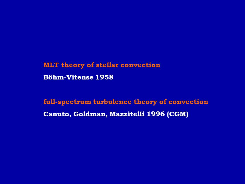MLT theory of stellar convection