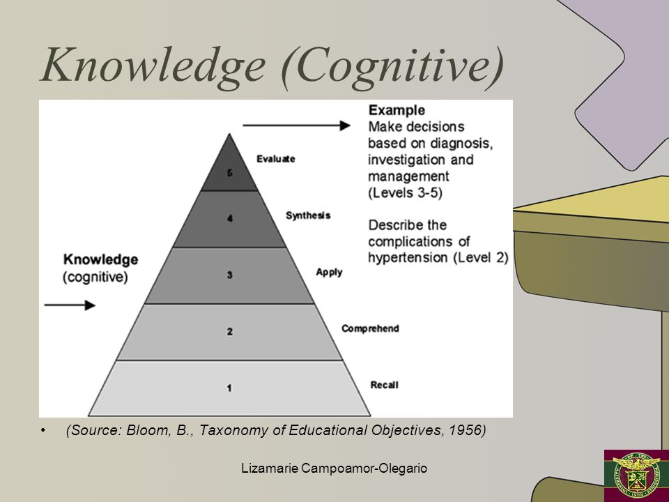 Knowledge (Cognitive)