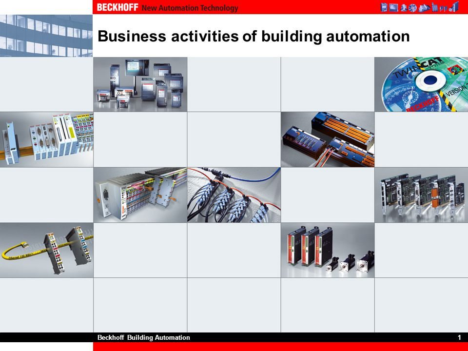 Business activities of building automation