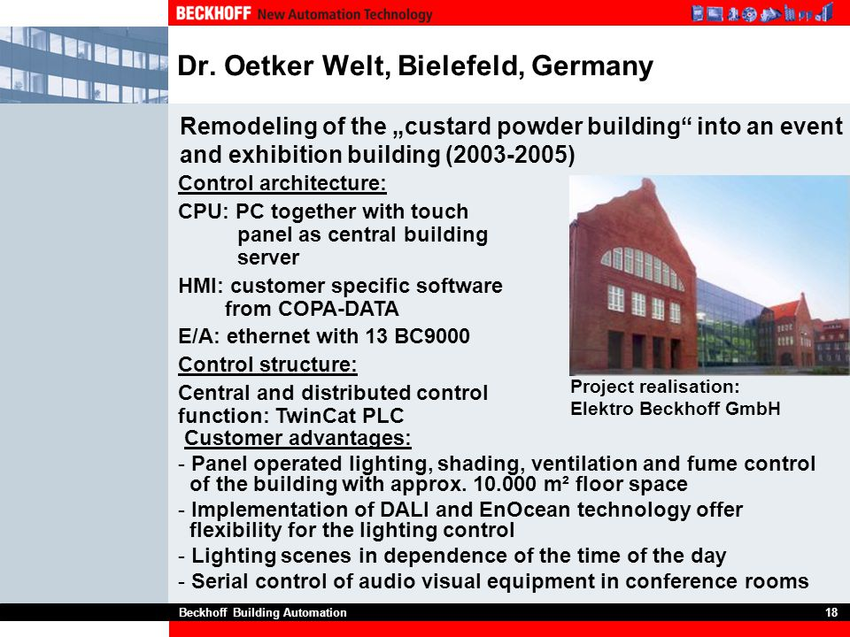 Dr. Oetker Welt, Bielefeld, Germany