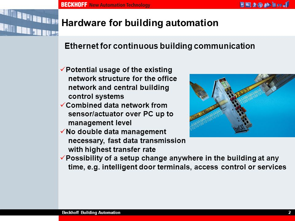 Hardware for building automation