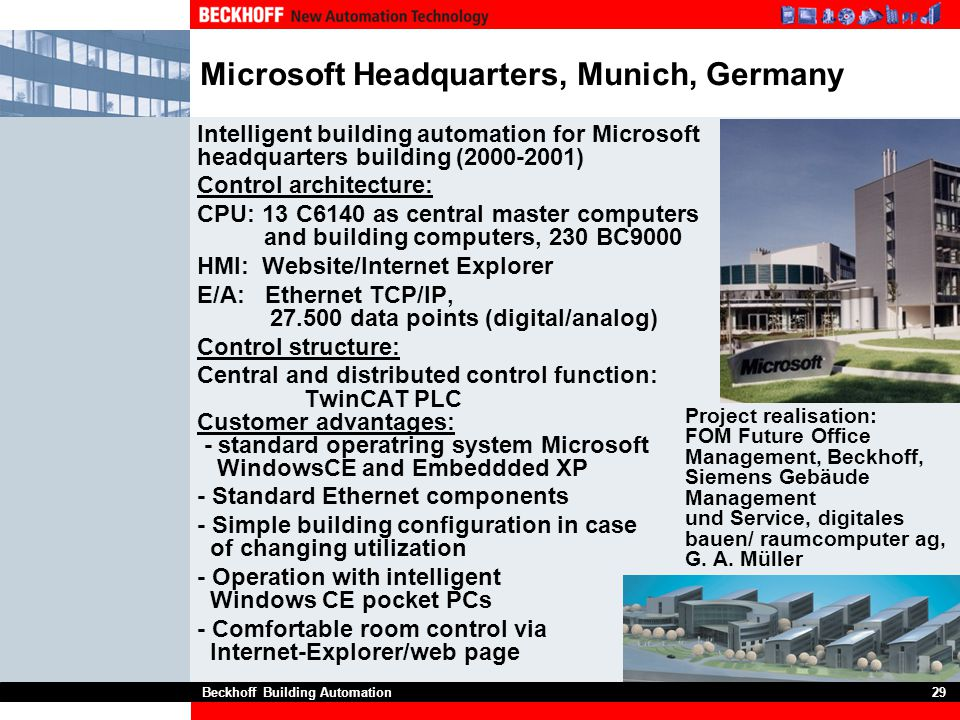 Microsoft Headquarters, Munich, Germany