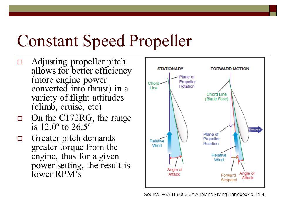 Constant Speed Propeller